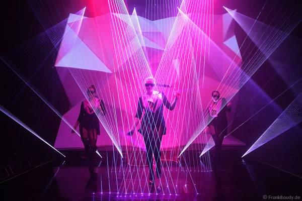 A19_Lasershow der Firma Kvant auf der Prolight + Sound 2014