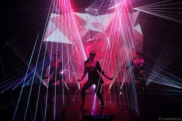 A20_Lasershow der Firma Kvant auf der Prolight + Sound 2014