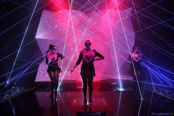 A21_Lasershow der Firma Kvant auf der Prolight + Sound 2014