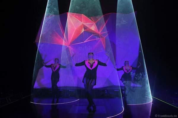 A25_Lasershow der Firma Kvant auf der Prolight + Sound 2014