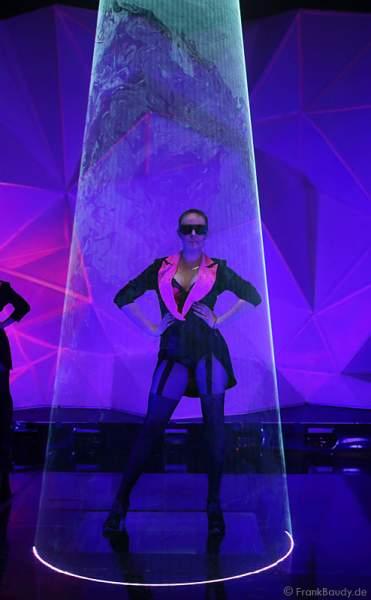 A26_Lasershow der Firma Kvant auf der Prolight + Sound 2014