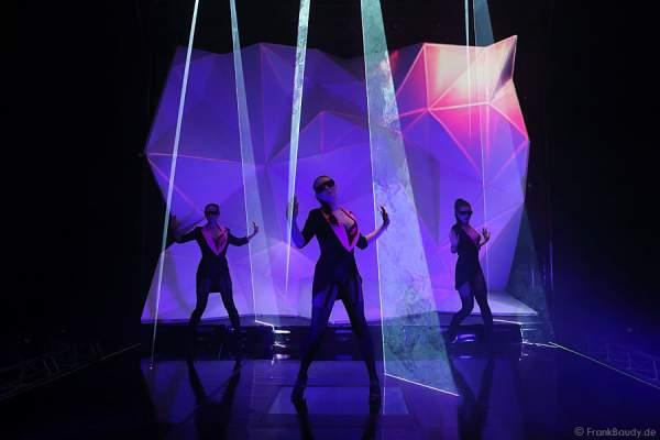 A28_Lasershow der Firma Kvant auf der Prolight + Sound 2014
