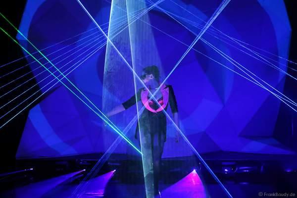 A30_Lasershow der Firma Kvant auf der Prolight + Sound 2014