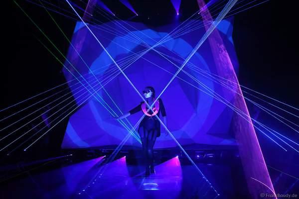 A32_Lasershow der Firma Kvant auf der Prolight + Sound 2014
