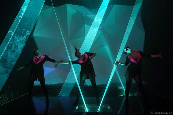 A34_Lasershow der Firma Kvant auf der Prolight + Sound 2014