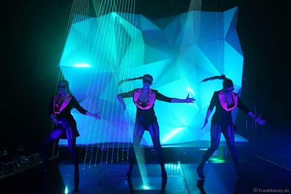 A35_Lasershow der Firma Kvant auf der Prolight + Sound 2014
