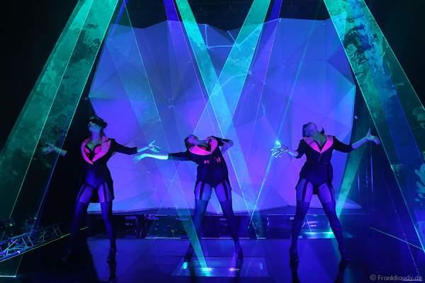 A36_Lasershow der Firma Kvant auf der Prolight + Sound 2014