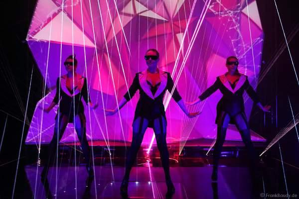 A37_Lasershow der Firma Kvant auf der Prolight + Sound 2014