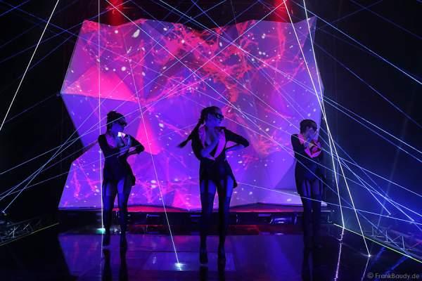 A39_Lasershow der Firma Kvant auf der Prolight + Sound 2014