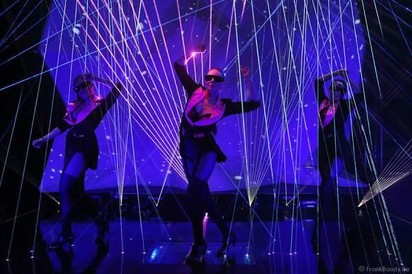 A41_Lasershow der Firma Kvant auf der Prolight + Sound 2014