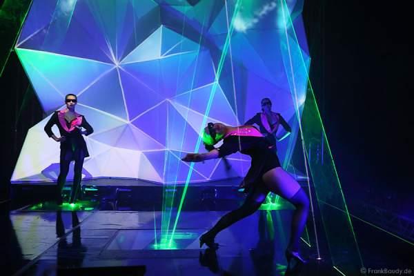 A45_Lasershow der Firma Kvant auf der Prolight + Sound 2014
