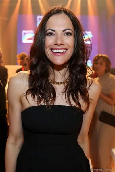 Bettina Zimmermann beim Radio Regenbogen Award 2014 im Europa-Park