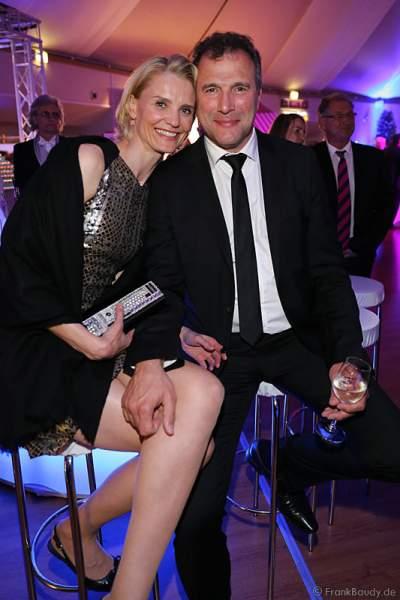 Alexander Hold und seine Frau Michaela beim Radio Regenbogen Award 2014 im Europa-Park