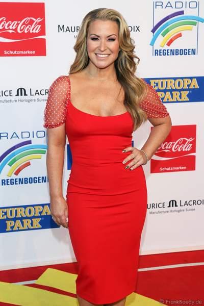 Anastacia beim Radio Regenbogen Award 2014 im Europa-Park