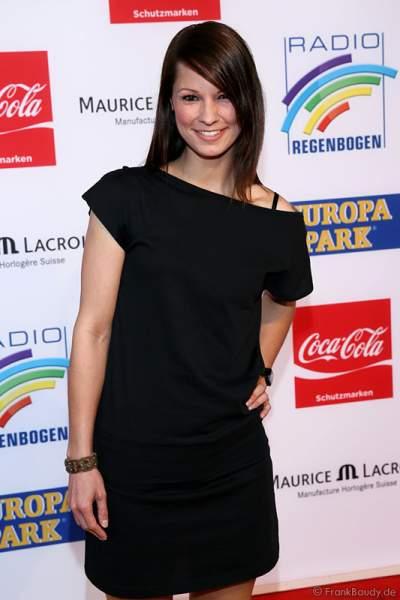 Christina Stürmer beim Radio Regenbogen Award 2014 im Europa-Park