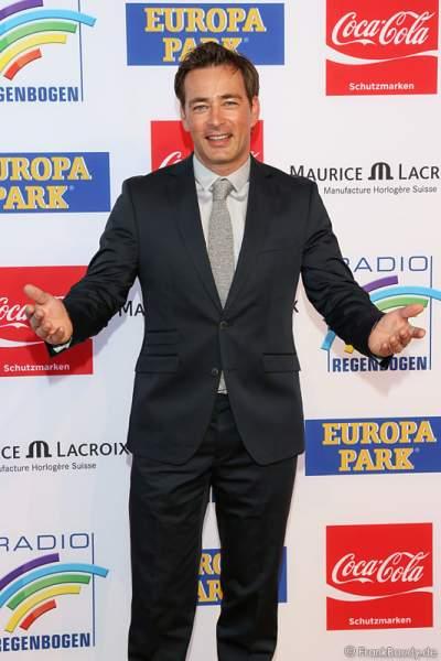 Jan Sosniok beim Radio Regenbogen Award 2014 im Europa-Park