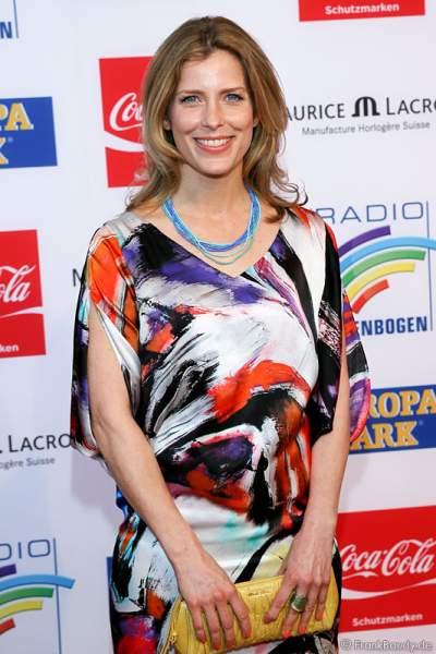 Valerie Niehaus beim Radio Regenbogen Award 2014 im Europa-Park