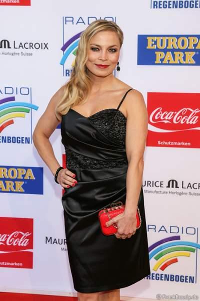 Regina Halmich beim Radio Regenbogen Award 2014 im Europa-Park