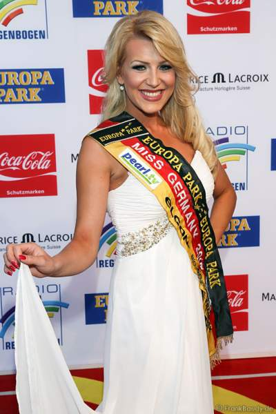 Vivien Konca Miss Germany 2014 beim Radio Regenbogen Award 2014 im Europa-Park