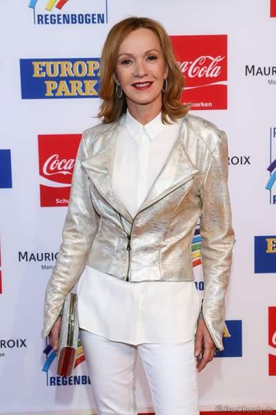 Katja Flint beim Radio Regenbogen Award 2014 im Europa-Park