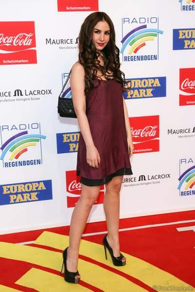 Sila Sahin beim Radio Regenbogen Award 2014 im Europa-Park
