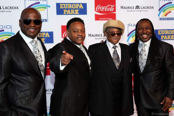Earth, Wind & Fire beim Radio Regenbogen Award 2014 im Europa-Park