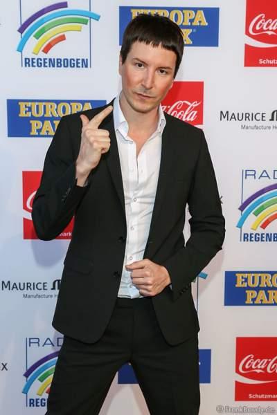 Marcus Christek beim Radio Regenbogen Award 2014 im Europa-Park