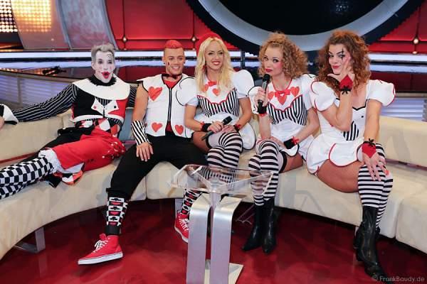 DJ Bobo Tänzerinnen Circus