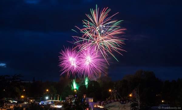 Feuerwerk bei der Frühjahrsmesse 2014 in Speyer