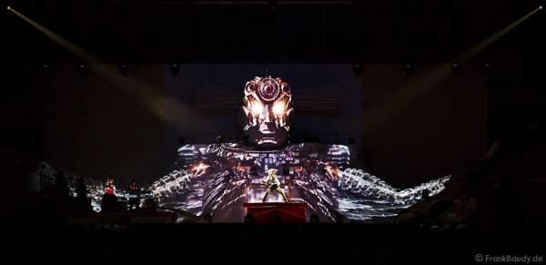 Roboter bei DJ Bobo Circus