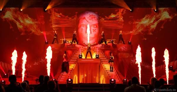 Feuer bei DJ Bobo Circus