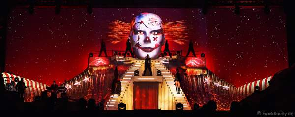 Clown bei DJ Bobo Circus