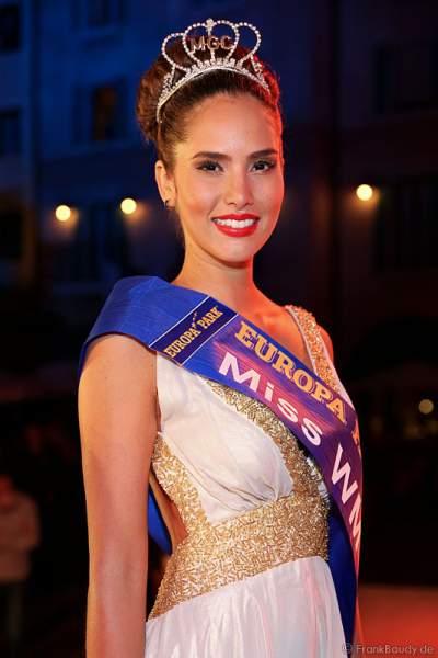 Daniela Ocoro Mejia gewinnt Miss WM 2014 Wahl im Europa-Park Rust