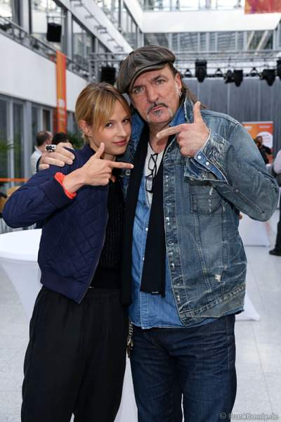 Lisa Bitter und Andreas Hoppe
