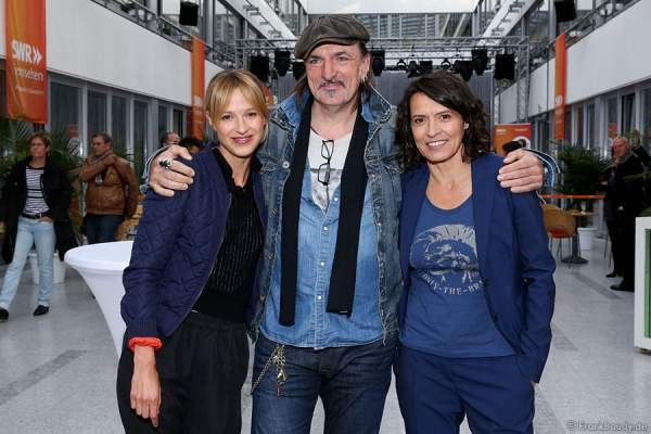 Lisa Bitter, Andreas Hoppe und Ulrike Folkerts
