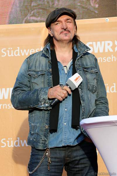 Andreas Hoppe bei Tatort BLACKOUT Premiere beim SWR Sommerfestival 2014 Mainz