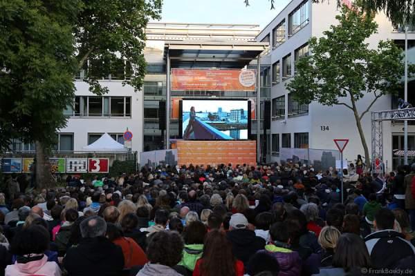 Lena Odenthal bei Tatort BLACKOUT Premiere beim SWR Sommerfestival 2014 Mainz