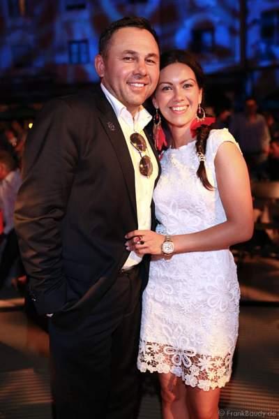 Dr. Jos Gal mit Ehefrau Timea Csata