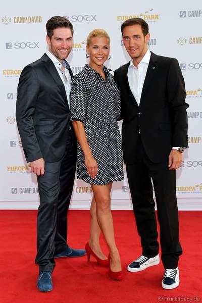 Christian Polanc, Tanja Szewczenko und Marcel Remus