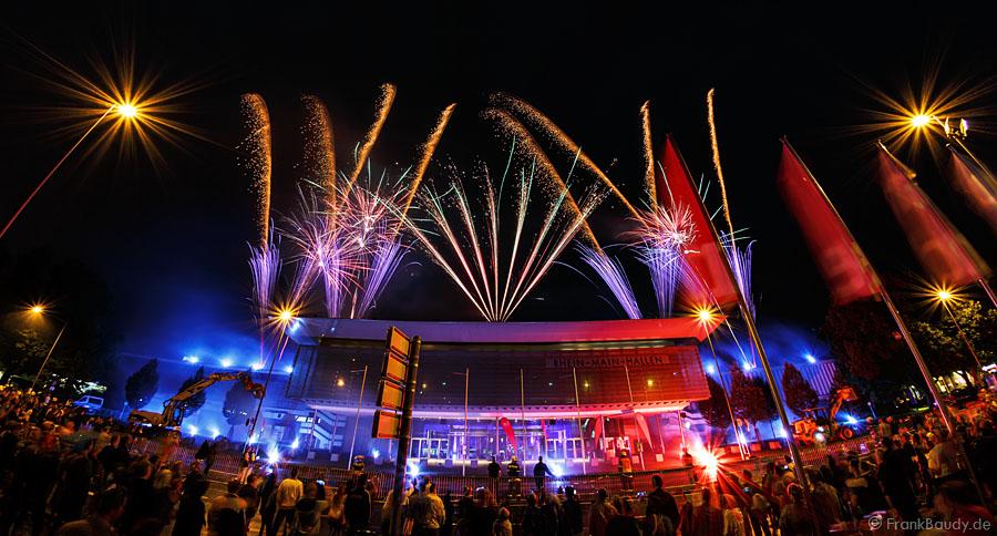 Feuerwerk Rhein Main