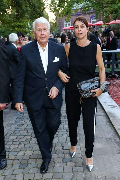 Peter Weck mit Tochter Barbara bei den Nibelungen-Festspiele 2014, born this way