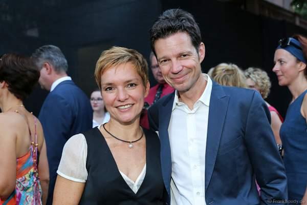Evelin Koenig mit Mann bei den Nibelungen-Festspiele 2014, born this way