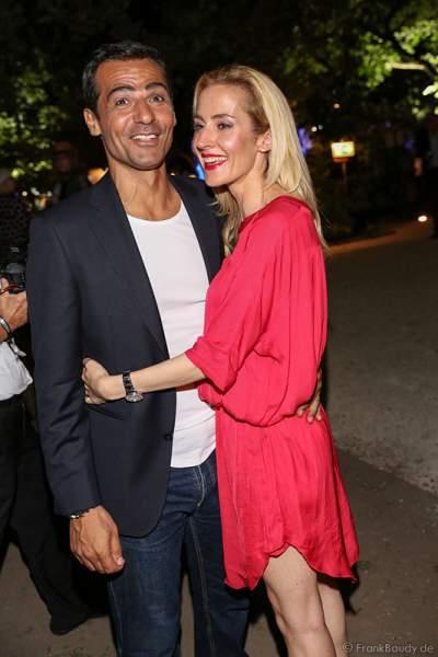 Erol Sander mit Ehefrau Caroline
