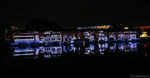 Wasser- und Lichtspiele beim Sommerfestival 2014 in Straßburg