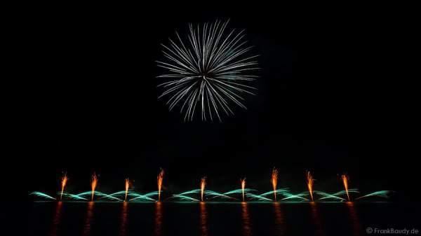Feuerwerk am Lac de Gérardmer