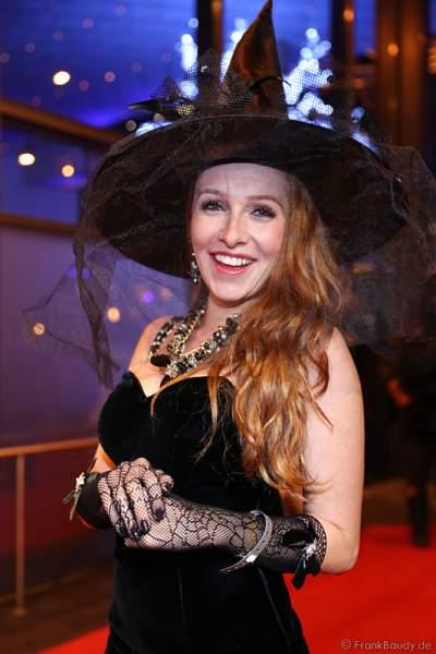 Georgina Fleur bei der Horror Glam Night 2014