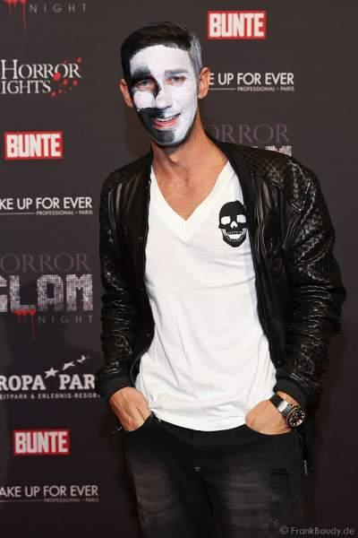 Marcel Remus bei der Horror Glam Night 2014