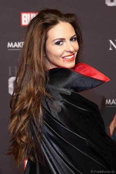 Doris Schmidts, Miss Germany 2009 bei der Horror Glam Night 2014