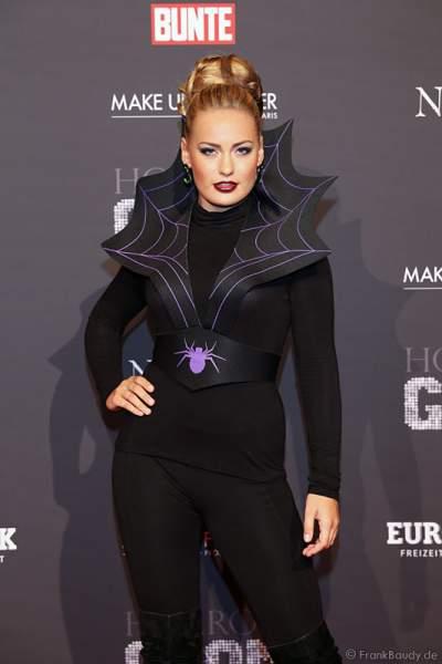 Anne Julia Hagen, Miss Germany 2010 bei der Horror Glam Night 2014