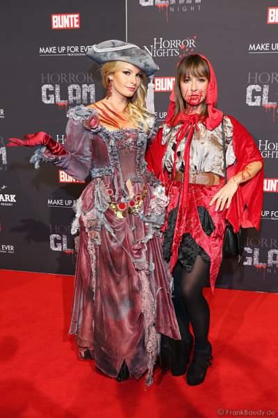 Jana Julie Kilka und Renee Weibel bei der Horror Glam Night 2014